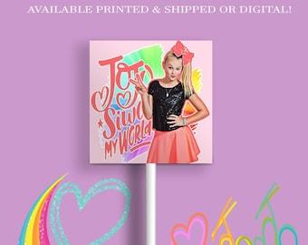 JoJo Lollipop Wrappers - JoJo Party - JoJo- Party Favors - Lollipop - Digital - Printed - Printable