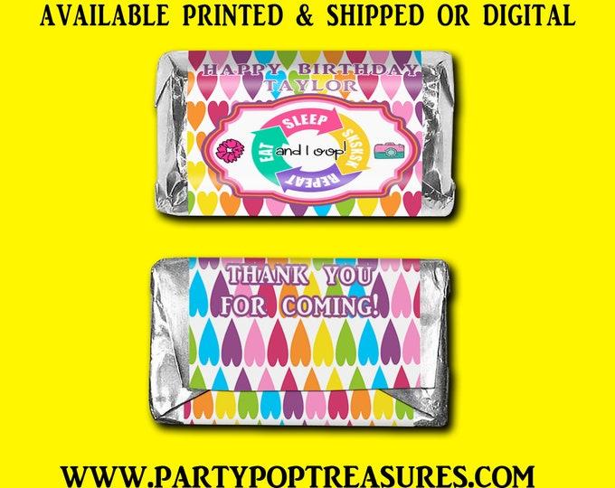 VSCO Miniature Hershey Bar Labels - Candy Bar Labels - Party Favors - VSCO Favors - Custom Party Favors - Digital - Party Printable