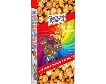Rugrats Cracker Jack Labels - Cracker Jack Labels - Rugrat Party Favor - Cracker Jacks - Rugrats Party - Digital - Party Printables