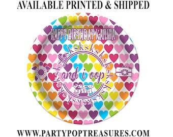 VSCO Dinner Plate - Paper Plate - Custom Paper Plate - VSCO Party - VSCO Theme - Digital - Printed - Party Printable