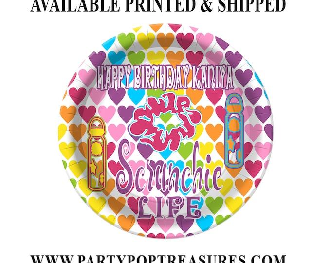 VSCO Dessert Plate - Custom Paper Plate - VSCO Party - VSCO Girl Theme - Digital - Printed - Party Printable