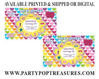 VSCO Invitation - VSCO Birthday Party - Birthday Party Invitations - Digital - Printable - Party Printables