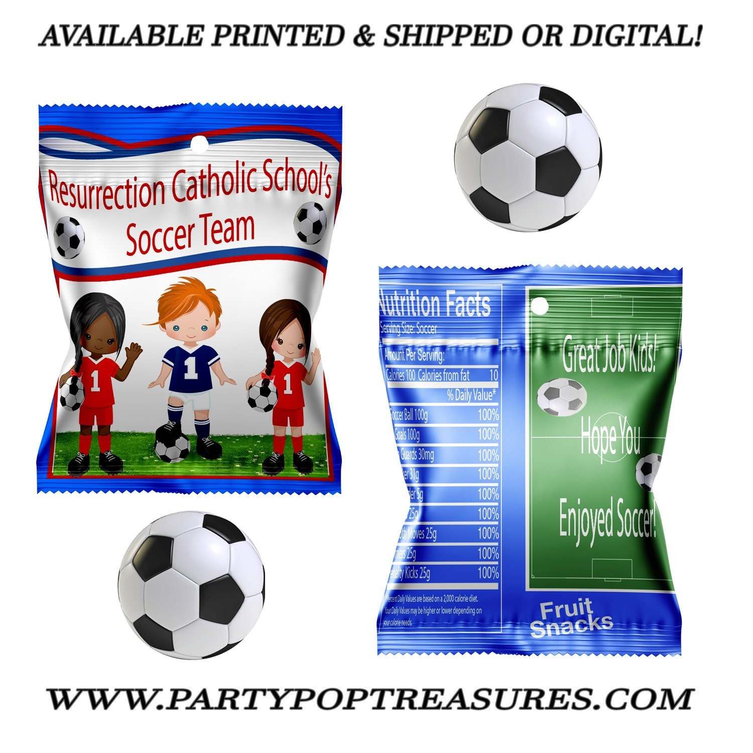 soccer fruit snack favors fruit snacks soccer party soccer
