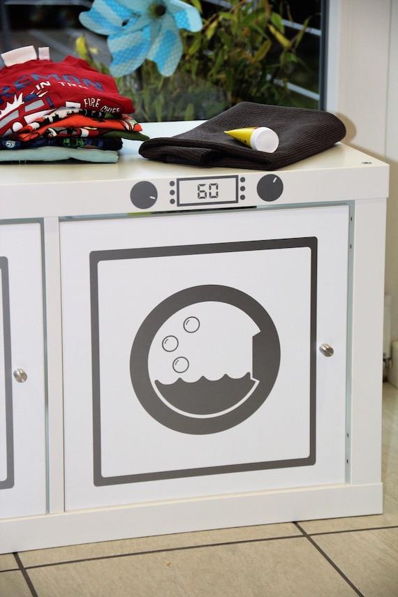 Aufkleber Waschmaschine Für Regal Kallax Expedit Klebefolie Möbelfolie Aufkleber Möbelaufkleber Dekor