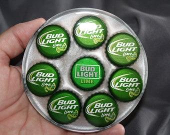 Bud Light/Lime Bottle Cap Coaster