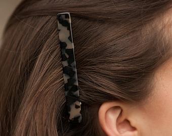 Turtle shell hair clip Small Charlotte Hair Clip in Light Tortoise Summer hair Cellulose hair clip Modern hair clip Hair accessories
