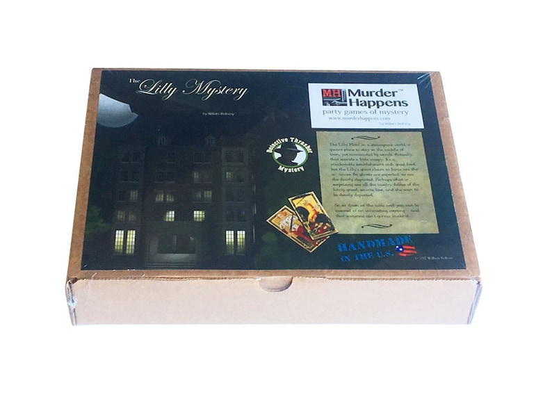 Steampunk seance The Lilly Mystery