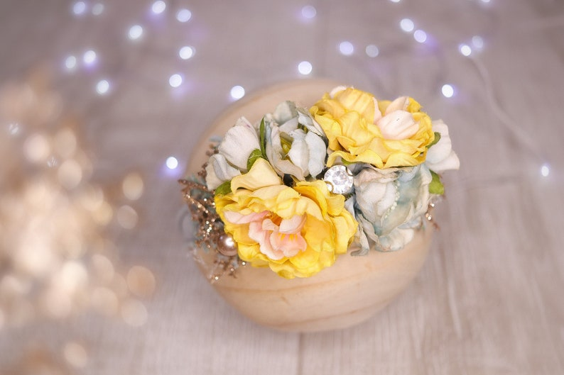 nylon headbands,Newborn headband flower crown headband Baby girl headband,floral nylon headband Baby headbands Infant Headband,Hair bows