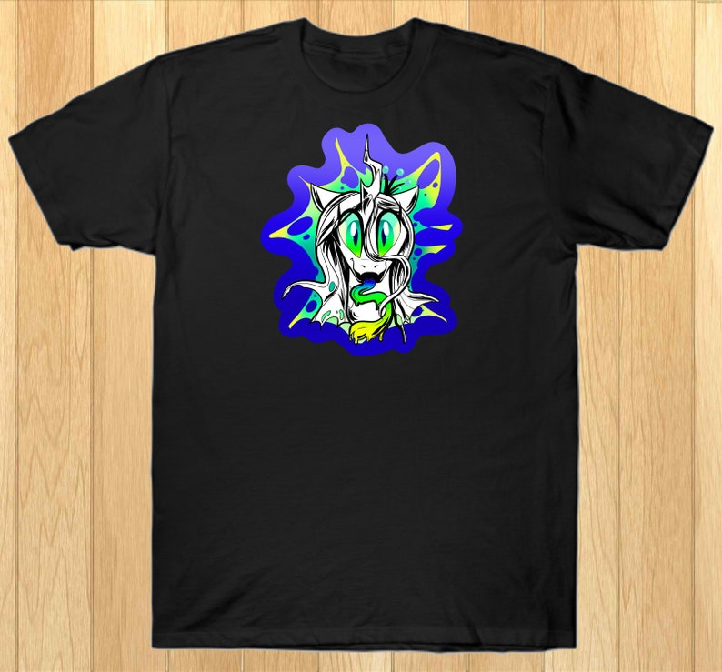 Queen Chrysalis  Changeling  Cotton T-shirt My Little Pony image 0