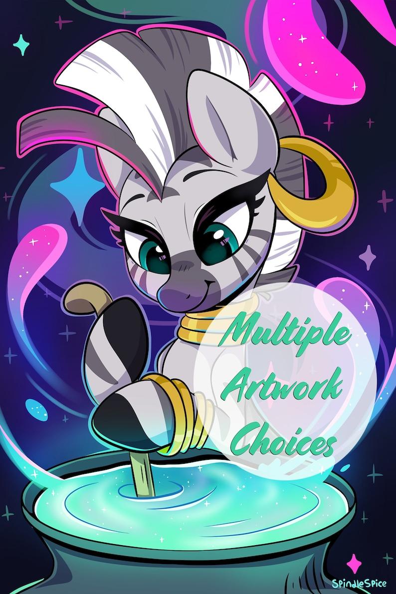 Zecora Minky Fleece Blanket  My Little Pony image 0