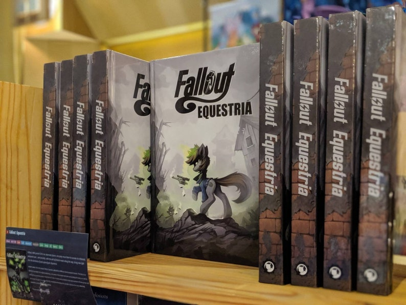 Hardcover Book : Fallout Equestria  My Little Pony Inspired image 0
