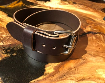 English Bridle leather belt, Bridle leather belt, leather belt, belt, dress belt, utility belt