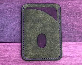 Italian leather wallet, EDC
