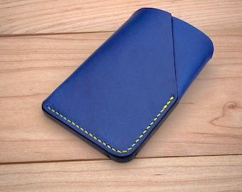 Italian leather wallet, EDC wallet