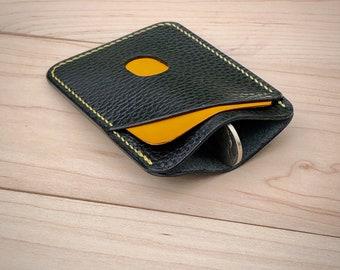 Italian leather EDC wallet