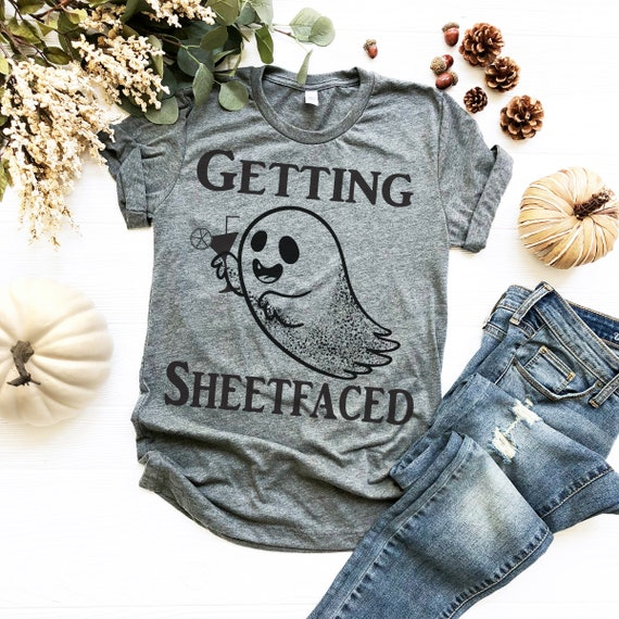 getting sheetfaced halloween shirt