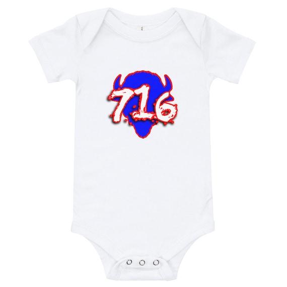 Buffalo Bills Inspired Infant Dress