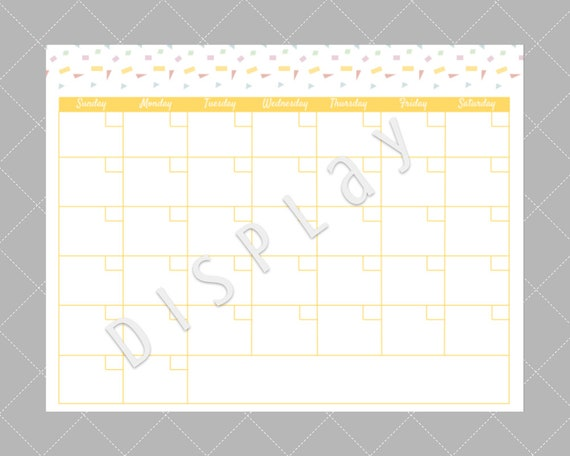 picture relating to Monthly Planning Calendar identify Blank Month to month Calendar, Supper Developing Calendar, Blank Creating Calendar