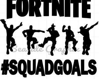 Fortnite Squad Goals Clipart | Fortnite Generator Mania