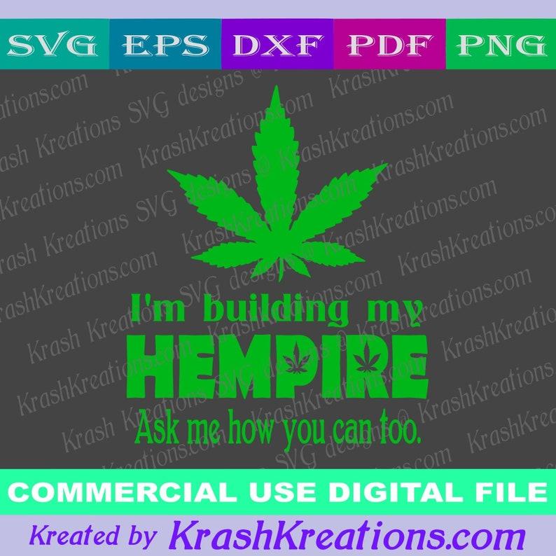 I'm building a hempire SVG digital file #H1