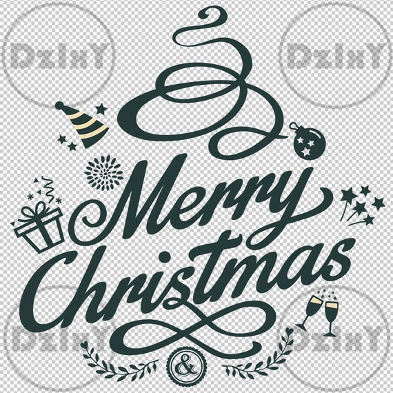 Merry Christmas Fonts Images.Digital Download Merry Christmas Fonts Svg Eps Ai Cut Files Clipart Appliques Png Heat Transfers Stickers Jpg Cricut Dzixy 42