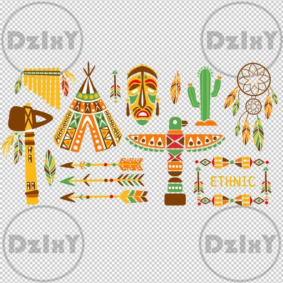 Digital Download Primitive Tribal Totem Svg Eps Ai Cut Etsy
