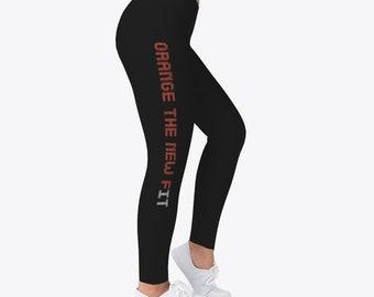 5ea33fd903d7 Sexy Orange Fitness Leggings