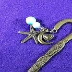 Antique gold Mermaid hook bookmarks