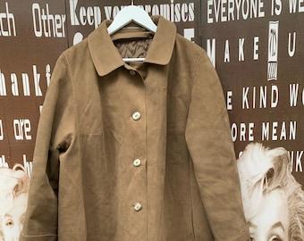 Ladies suede coat | Etsy