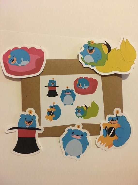 Items similar to Villainous Baby 505 Sticker Pack (5) on Etsy