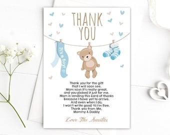 Thanks dottyart bear card.