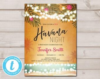 Havana nights | Etsy