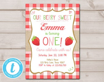 picture about Strawberry Printable known as Strawberry printable Etsy