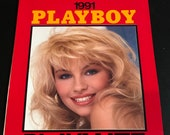 items similar to playboy playmate wall calendar 1991 lisa