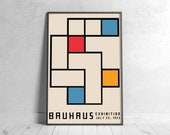 BAUHAUS II 1923  Poster - Printable Wall Art, Classic Advertising Print, Vintage Elegant Poster, Digital Download