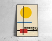 BAUHAUS 1923 Poster - Printable Wall Art, Classic Advertising Print, Vintage Elegant Poster, Digital Download
