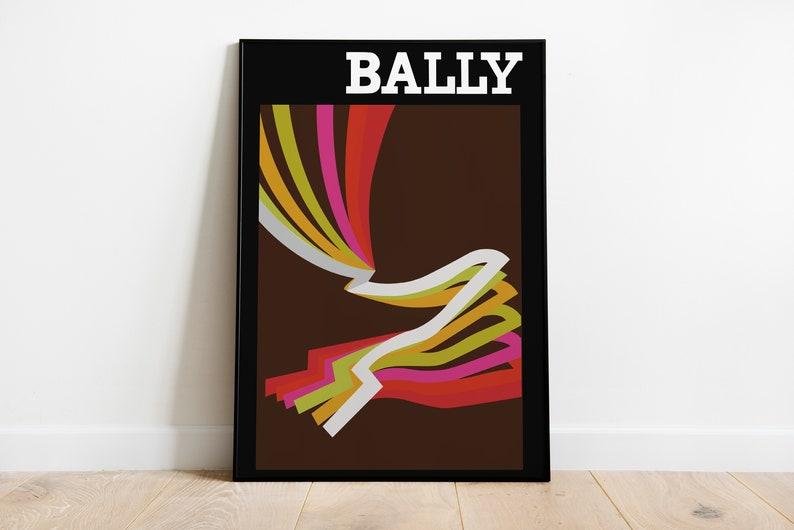 Bally 1976 Poster Replica  Retro Posters  Vintage Prints  image 1