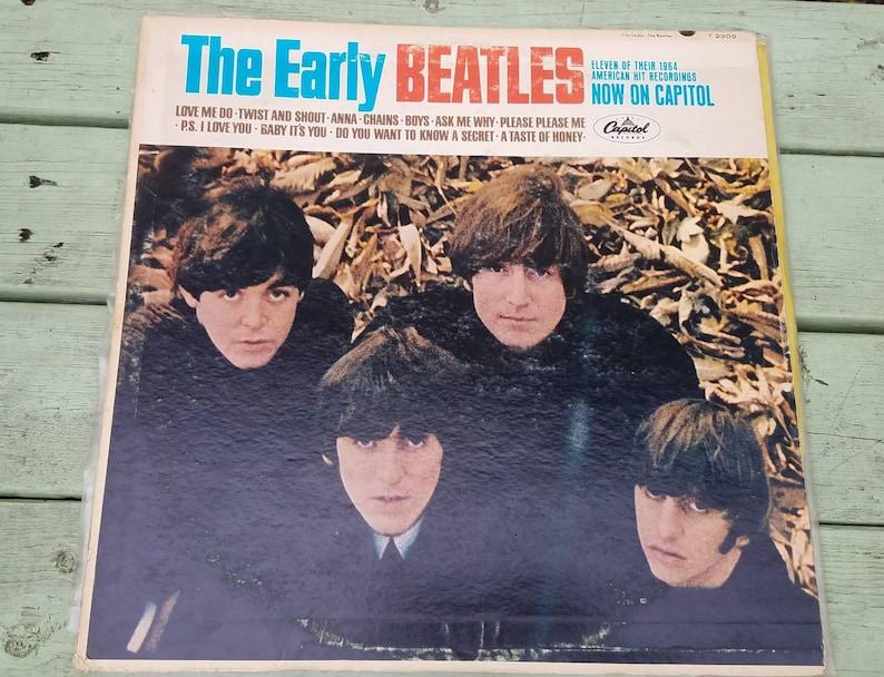 The Early Beatles t2309 mono vinyl record album LP