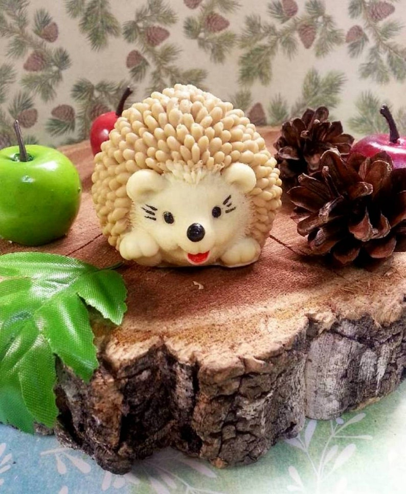 "/""Little hedgehog/"" plastic soap mold soap making mold mould"