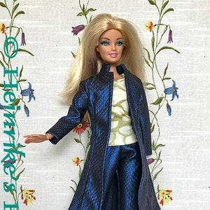 Mantel fur barbie stricken