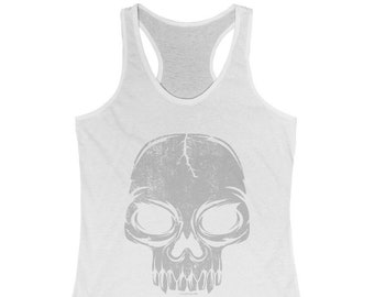 ce6919ab5c45a Gray skull tank top