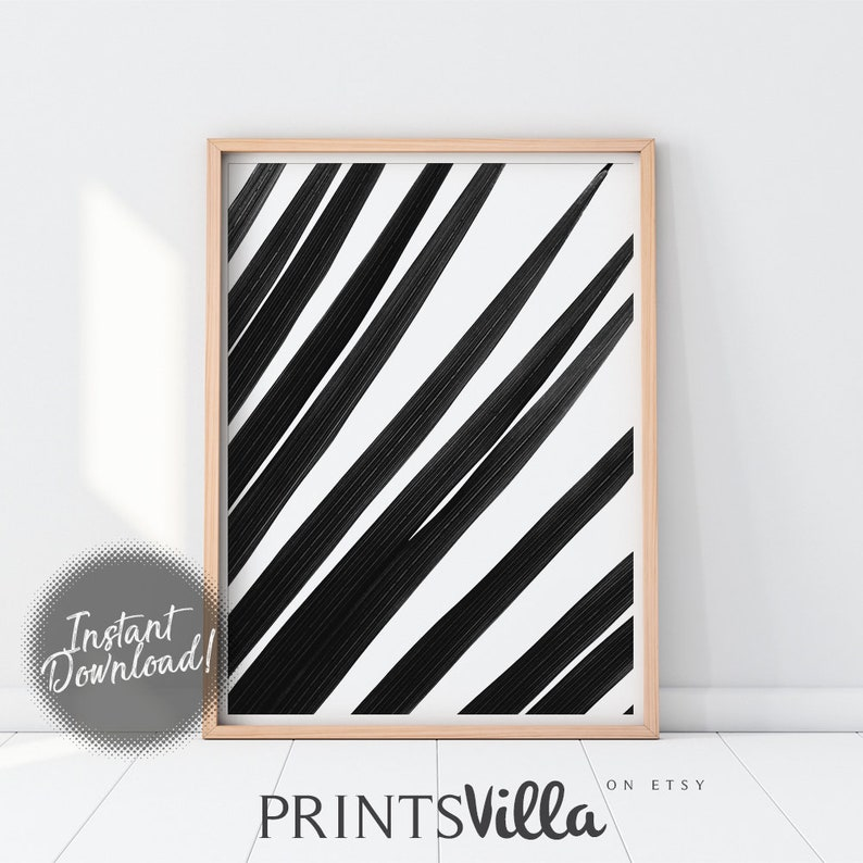 Black And White Tropical Leaves Print Minimalist Palm Leaf Etsy .decor tropical art tropical leaf print minimalist leaf art palm leaf art black palm tropical art special offers and product promotions. etsy