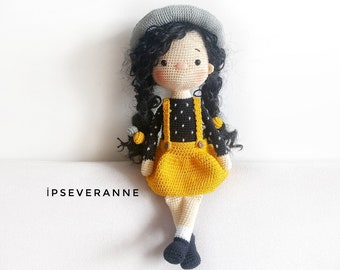 Olivia the Bunny Lovey and Amigurumi Crochet Patterns Pack | 270x340