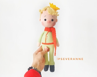 Little Prince Amigurumi (Lalylala Style) by TinLady on DeviantArt | 270x340