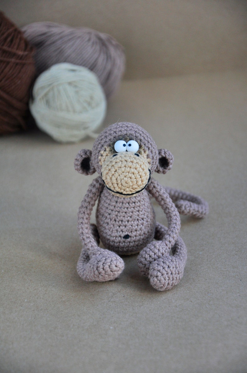 crochet monkey amigurumi | Flechtmuster stricken, Figuren häkeln ... | 1195x794