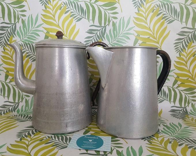Shabby Jug, Gift Garden, Deco Country House, Milk Jug Alu, Milk Pot Old, Shabby Milk Pot, Garden Decor,Shabby Decoration, Shabby Kitchen
