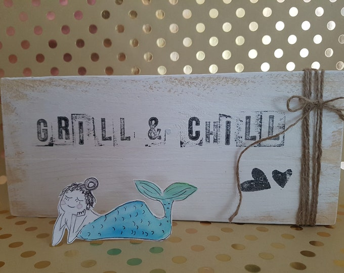 Text plate,garden decoration,Shabby decoration, wood sign, painted wood,saying picture,favorite place,Shabby decoration,gift garden,gift house,grill