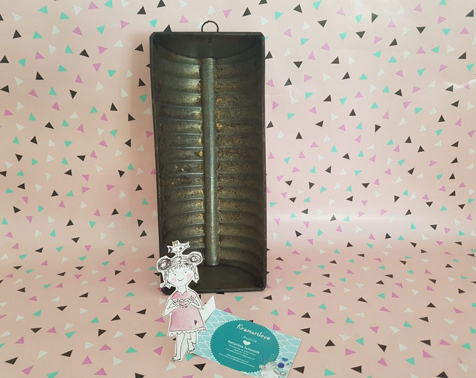 Baking tin Shabby, rusty backorm, shabby decoration, natural decoration, baking tin old, shabby kitchen accessories, hanging baking tin, Kramurilove