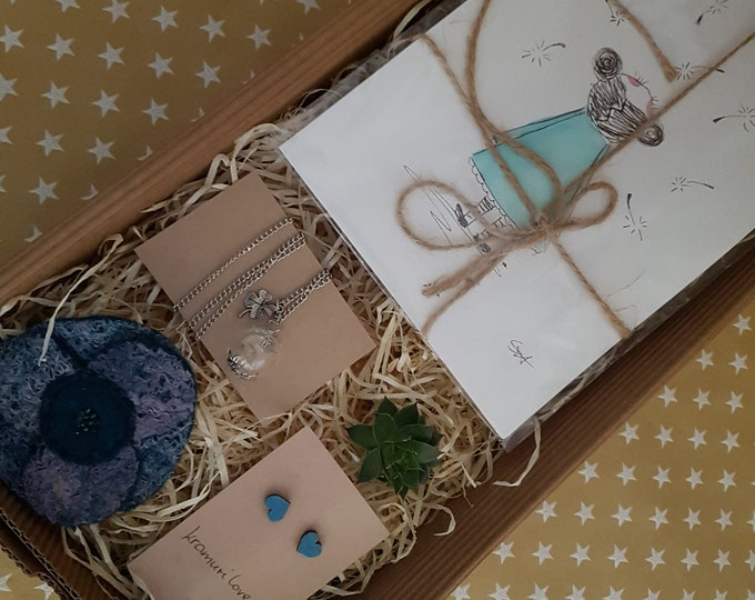 Pusteblume,Easter gift,gift pusflower, gift set, gift for friends,Mother's day,gift wish, pusflower gift