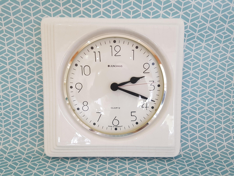 Admirable Junghans Wall Clock Shabby Wall Clock White Wall Clock Home Interior And Landscaping Synyenasavecom
